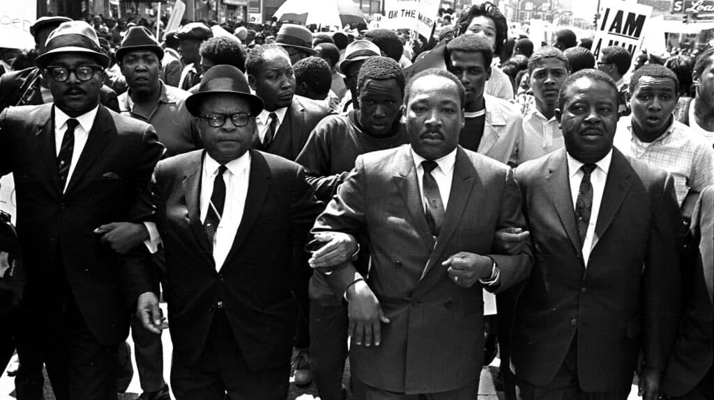 CIVIL RIGHTS LEADERS MARCH